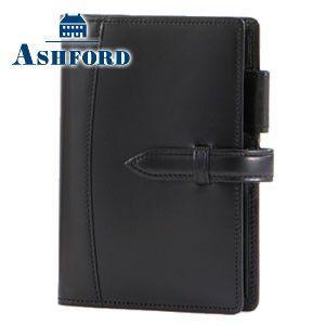 アシュフォード 数量限定・新品アウトレット 半額セール 即納  アルフ マイクロ6サイズ システム手帳 11ミリ ベルト ブラック 送料・代引き手数料別|nomado1230