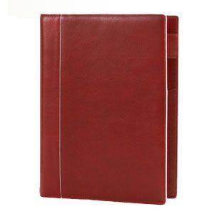 システム手帳 A5 革 アシュフォード 名入れ無料 イシュー A5 システム手帳 15ミリ ノートタイプ レッド 3077-044 3077|nomado1230