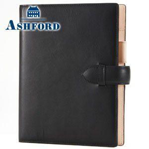 システム手帳 A5 革 アシュフォード リフィールプレゼント 名入れ無料 キュリオ A5 19ミリ システム手帳 ブラック 3080-011 3080|nomado1230