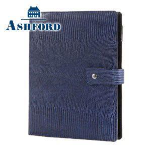 アシュフォード 名入れ無料 ネオフィナード A5 システム手帳 15ミリ ホックベルト ネイビー 3084-077 3084|nomado1230