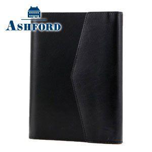 システム手帳 A5 革 アシュフォード 名入れ無料 マイミクスチュア A5 システム手帳 15ミリ フラップ ブラック 3085-011 3085|nomado1230