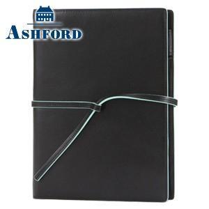 システム手帳 A5 革 アシュフォード リフィールプレゼント 名入れ無料 雅 MIYABI A5 15ミリ 紐ベルト システム手帳 ブラック 3095-011|nomado1230