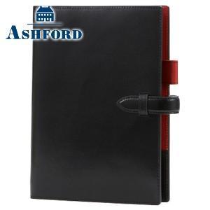 システム手帳 A5 革 アシュフォード リフィールプレゼント 名入れ無料 マイミクスチュア A5 15ミリ 手帳 ブラック 3097-011|nomado1230