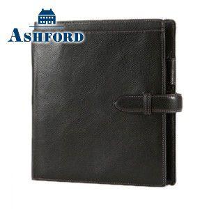 HB×WA5 アシュフォード リフィールプレゼント 名入れ無料 ローファー HB×WA5 システム手帳 ブラック 6104-011 6104|nomado1230