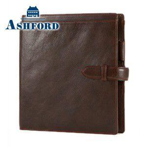 HB×WA5 アシュフォード リフィールプレゼント 名入れ無料 ローファー HB×WA5 システム手帳 ブラウン 6104-022 6104|nomado1230