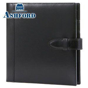 HB×WA5 アシュフォード リフィールプレゼント 名入れ無料 ルガード HB×WA5 15ミリ システム手帳 ブラック 6117-011 6117|nomado1230