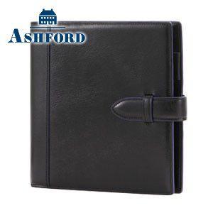 HB×WA5 アシュフォード リフィールプレゼント対象商品 名入れ無料 イシュー HB×WA5 システム手帳 19ミリ ベルト ブラック 6125-011 6125|nomado1230