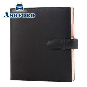 HB×WA5 アシュフォード リフィールプレゼント対象商品 名入れ無料 キュリオ HB×WA5 システム手帳 15ミリ ベルト ブラック 6128-011 6128|nomado1230