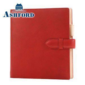 HB×WA5 アシュフォード リフィールプレゼント対象商品 名入れ無料 キュリオ HB×WA5 システム手帳 15ミリ ベルト レッド 6128-044 6128|nomado1230