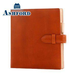 HB×WA5 アシュフォード リフィールプレゼント対象商品 名入れ無料 キュリオ HB×WA5 システム手帳 15ミリ ベルト オレンジ 6128-084 6128|nomado1230