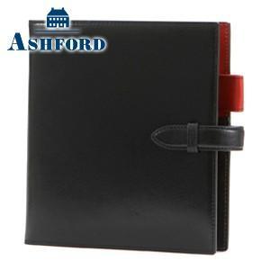 HB×WA5 アシュフォード リフィールプレゼント 名入れ無料 マイミクスチュア HB×WA5 15ミリ 手帳 ブラック 6131-011|nomado1230