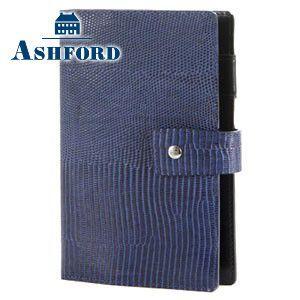 アシュフォード 名入れ無料 ネオフィナード バイブルサイズ システム手帳 15ミリ ホックベルト ネイビー 7200-077 7200|nomado1230