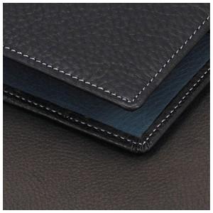 アシュフォード リフィールプレゼント 名入れ無料 ジェム バイブル 19ミリ ホックベルト システム手帳 ブラック×アシュブルー nomado1230 05