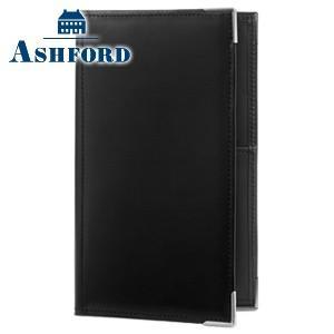 システム手帳 バイブル 革 アシュフォード 名入れ無料 レクタングル バイブルサイズ 11ミリ システム手帳 ブラック 7258-011 nomado1230