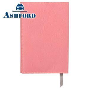 アシュフォード ビバーチェ 文庫サイズ ブックカバー ピンク×トープ No. 8093-461|nomado1230