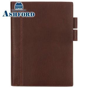 ダイアリー A5 革 アシュフォード ディープ A5サイズ ダイアリーカバー ブラウン No. 8236-022 nomado1230
