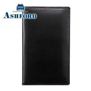 カードケース メンズ 革 名入れ アシュフォード 名入れ無料 アルフ カード入れ ブラック 8412-011 8412|nomado1230