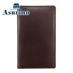 カードケース メンズ 革 名入れ アシュフォード 名入れ無料 アルフ カード入れ ダークブラウン 8412-012 8412|nomado1230