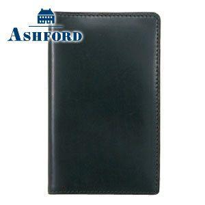 カードケース メンズ 革 名入れ アシュフォード 名入れ無料 アルフ カード入れ グリーン 8412-055 8412|nomado1230