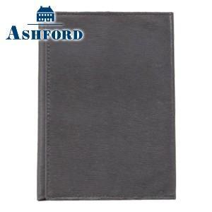 ブックカバー 革 アシュフォード キャロル 文庫 ブックカバー グレー 8599-009 nomado1230