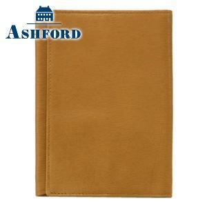 ブックカバー 革 アシュフォード キャロル 文庫 ブックカバー キャメル 8599-066|nomado1230