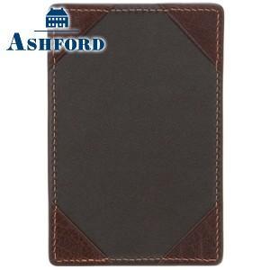 手帳カバー 革 名入れ アシュフォード ディープ Sサイズ ジョッター ブラウン No. 9095-022|nomado1230
