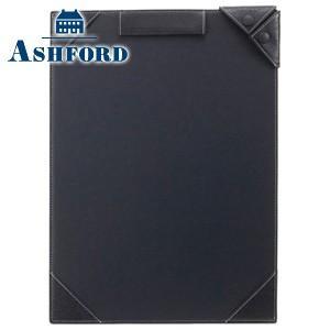 ノートカバー 革 A4 名入れ アシュフォード ディープ A4サイズ ジョッター ネイビー No. 9097-077 nomado1230