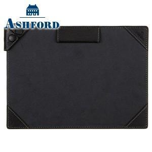手帳カバー 革 名入れ アシュフォード ディープ A5サイズ ジョッター ブラック 9140-011|nomado1230