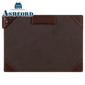 手帳カバー 革 名入れ アシュフォード ディープ A5サイズ ジョッター ブラウン 9140-022|nomado1230