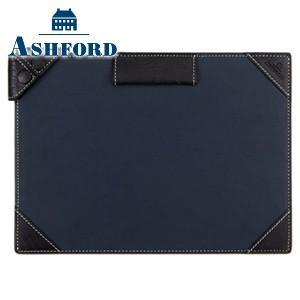手帳カバー 革 名入れ アシュフォード ディープ A5サイズ ジョッター ネイビー 9140-077|nomado1230