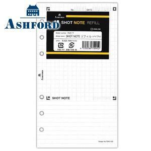 リフィル バイブルサイズ アシュフォード SHOT NOTE REFILL BIBLE バイブルサイズ リフィル 5セット 7645-100|nomado1230