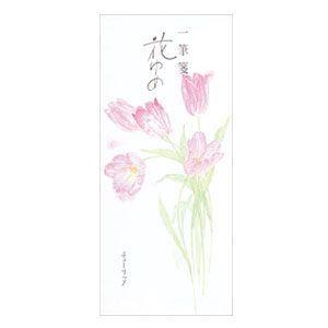 一筆箋 エムディーエス(MDS) 花ゆめ 春コレクション チューリップ 一筆箋 スミレ5冊セット 12-886|nomado1230