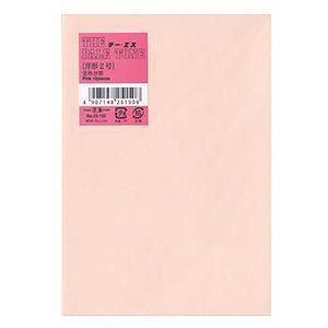 封筒 エムディーエス(MDS) ピンク カラー洋封筒 ペイルトーン 枠なし 10枚 ハーフトーンカラー紙 10セット 25-150|nomado1230