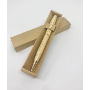 高級 ボールペン 名入れ ウッディ 即納 名入れ無料ラバーウッド メープル クラシックボールペン ペンケースつき UDMPLBP|nomado1230