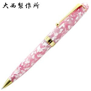 高級 ボールペン 大西製作所 アセテート 太軸 ボールペン サクラ ONBPB70SK|nomado1230
