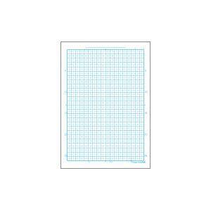 学習帳 A4 方眼 オキナ パリオノート 全科目 両面開き A4判 方眼罫5mm ブルー GL1B 10セット GL1B|nomado1230|03