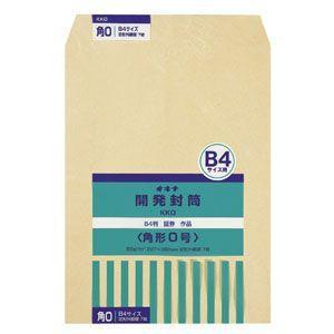封筒 オキナ 開発封筒 角形0号 7枚入 KK0 10セット KK0|nomado1230