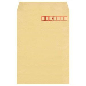封筒 オキナ 事務用エルシーム封筒 70 角形2号 枠付 500枚入 LA7K2W|nomado1230