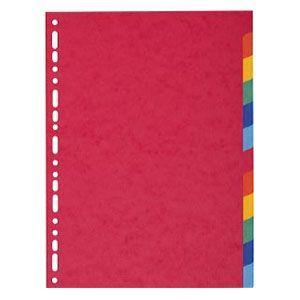 インデックス エグザコンタ カラーインデックス 12分割 10冊セット 1412E|nomado1230