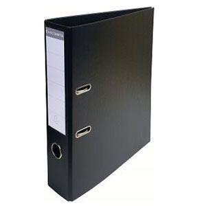 2穴ファイル A4 エグザコンタ レバーアーチファイル 70ミリ 2穴 2冊セット ブラック 53741E|nomado1230