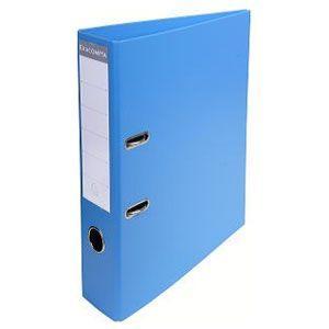 2穴ファイル A4 エグザコンタ レバーアーチファイル 70ミリ 2穴 2冊セット ブルー 53742E|nomado1230