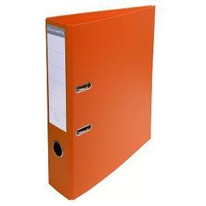 2穴ファイル A4 エグザコンタ レバーアーチファイル 70ミリ 2穴 2冊セット オレンジ 53744E|nomado1230