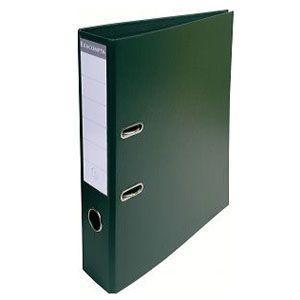2穴ファイル A4 エグザコンタ レバーアーチファイル 70ミリ 2穴 2冊セット ダークグリーン 53753E|nomado1230
