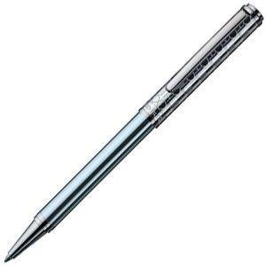 高級 ボールペン オットー・フット(Otto Hutt) Design 03 油性ボールペン モノグラム・メタリックブルー Design03BP-M-BL|nomado1230