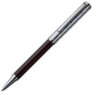 高級 ボールペン オットー・フット(Otto Hutt) Design 03 油性ボールペン モノグラム・ダークブラウン Design03BP-M-DB|nomado1230