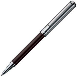 高級 ボールペン オットー・フット(Otto Hutt) Design 03 油性ボールペン レクタングル・ダークブラウン Design03BP-R-DB|nomado1230