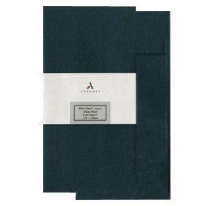 封筒 アルボレス(arbores) シリオパール 封筒 5個セット シャイニーブルー AE-301|nomado1230