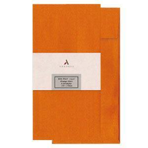 封筒 アルボレス(arbores) シリオパール 封筒 5個セット オレンジ AE-302|nomado1230