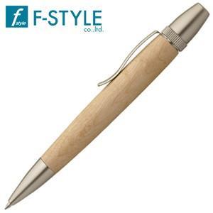 高級 ボールペン 名入れ エフスタイル (F-STYLE) 杢杢工房 野村収氏作 銘木ボールペン 板屋楓 SP15201|nomado1230