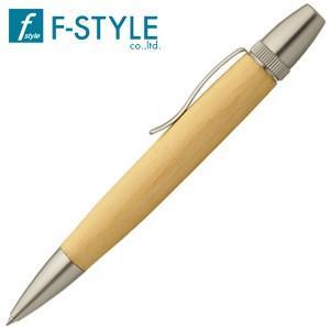 高級 ボールペン 名入れ エフスタイル (F-STYLE) 杢杢工房 野村収氏作 銘木ボールペン 木曽桧 SP15202|nomado1230
